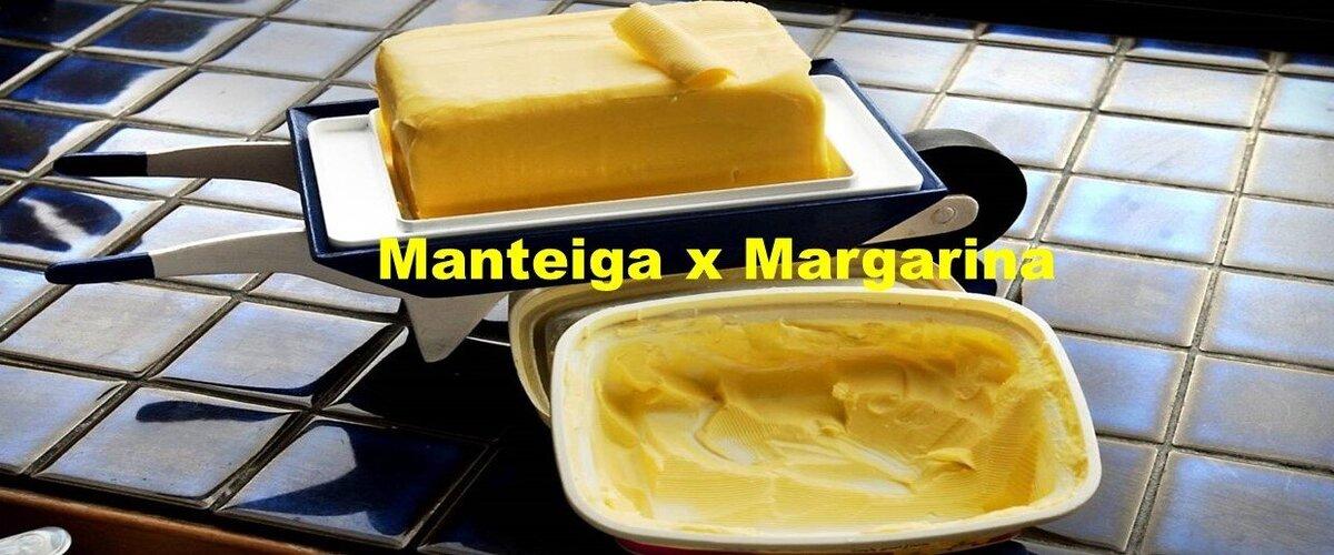 Qual a Diferença entre Manteiga e Margarina