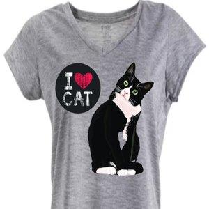 Baby look Love Cat