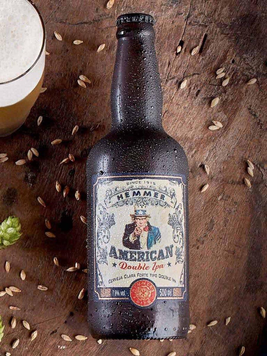 Cerveja Artesanal Hemmer American Double IPA 500 ml