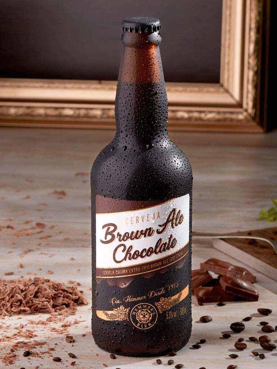 Cerveja Artesanal Brown ALE Chocolate 500 ml