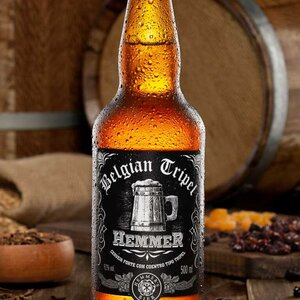 Cerveja Artesanal Belgian Tripel 500 ml
