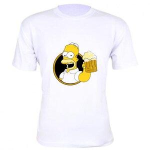 Camiseta Homer Simpson Cerveja