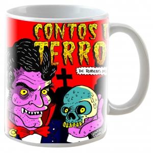 Caneca - Contos de Terror - Rubens Mello