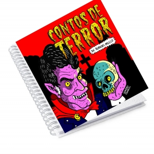 Agenda Permanente  Contos de Terror - Rubens Mello