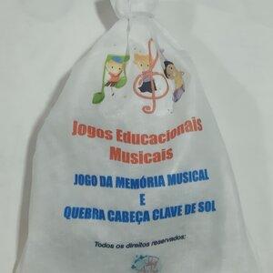 Jogos educacionais musicais: memoria+quebra cabeça