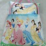 Bolsinha + almofada princesas