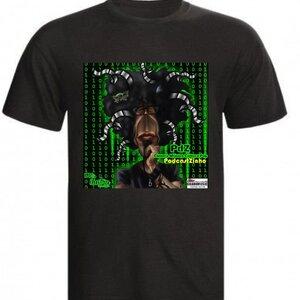 Camiseta Preta -   PDZ PodcastZinho Cultura Pop