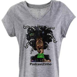 Camiseta Baby Look - PDZ PodcastZinho Cultura Pop