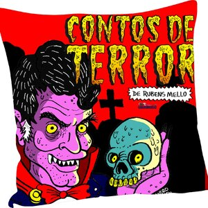 Almofada Contos de Terror - Rubens Mello